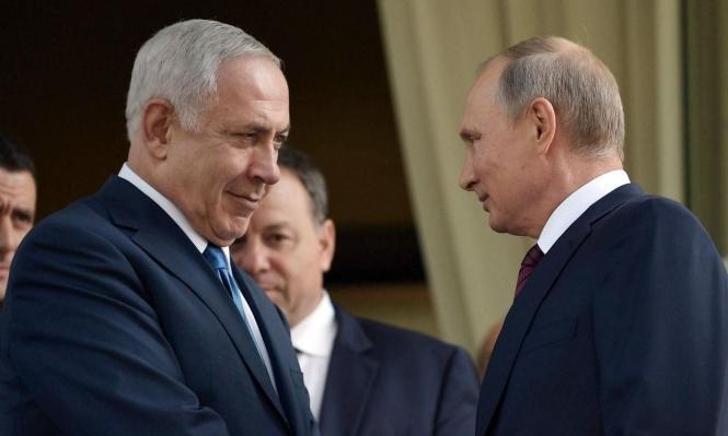 نتنياهو يلغي لقاءه مع بوتين لانشغاله بوحدة أحزاب اليمين