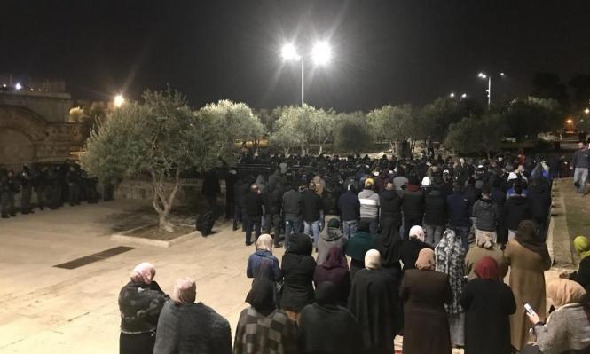 لتواجدهم بباب الرحمة: اعتقال 3 شبان من طمرة وكابول