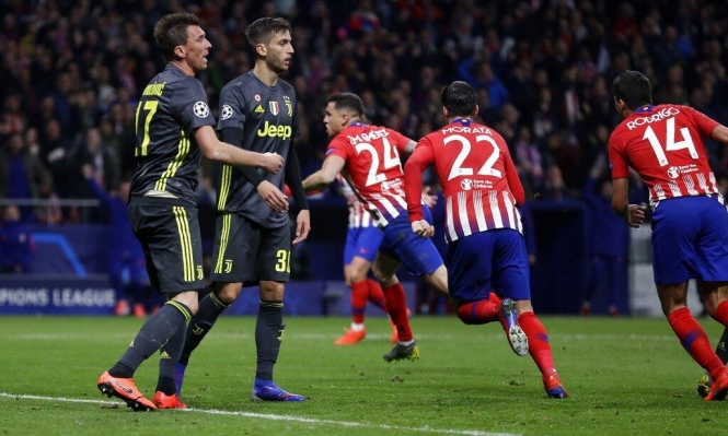 أتلتيكو مدريد يُسقط يوفنتوس بهدفين نظيفين