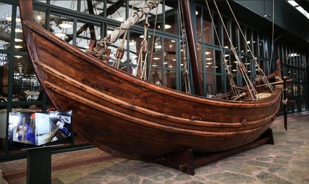 سفينة غارقة منذ القرن التاسع تصل لمتحف باسطنبول!