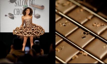 الشوكولاطة البلجيكية.. من الحلويات وحتى الفساتين