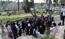العشرات يزورون قرية عمواس المهجرة
