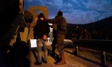 اعتقال 19 فلسطينيا بالضفة وتوغل محدود بغزة