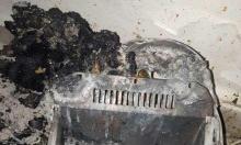 حرفيش: إصابتان في حريق