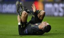 إصابة كريستيانو تثير قلق يوفنتوس