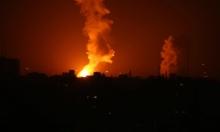طائرات الاحتلال تقصف غربي خان يونس