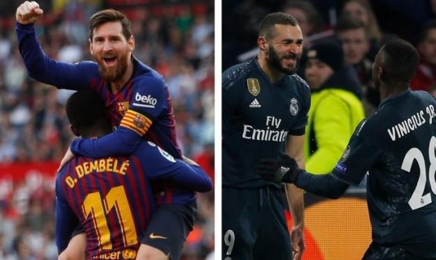 موقعة الكلاسيكو: التشكيلة المتوقعة لريال مدريد وبرشلونة
