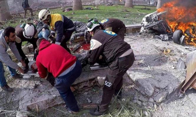 """""""النظام السوري يواصل استهداف المدنيين في إدلب"""""""