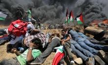 """جمعة """"باب الرحمة"""": إصابات برصاص الاحتلال شرقي غزة"""