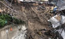 حفريات المستوطنين تتسبب بانهيار بملعب وادي حلوة بسلوان