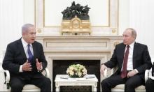 """نتنياهو: """"اتفقت مع بوتين على مواصلة التنسيق العسكري بسورية"""""""