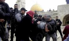 مستوطنون يقتحمون الأقصى وإبعاد قيادات مقدسية عن المسجد