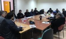 قلنسوة: جلسة لمناقشة المسح التخطيطي
