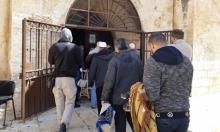 """مستوطنون يقتحمون الأقصى ونيابة الاحتلال تطالب إغلاق """"باب الرحمة"""""""