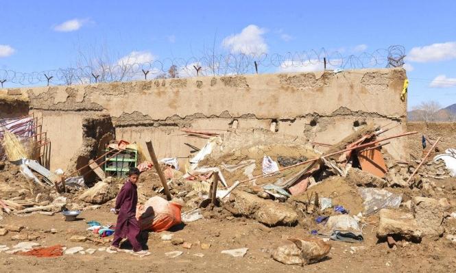مصرع 32 شخصا في الفيضانات في أفغانستان