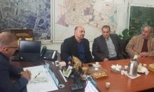 غنايم يبحث مع مجلس جديدة المكر تطورات مخطط الطنطور