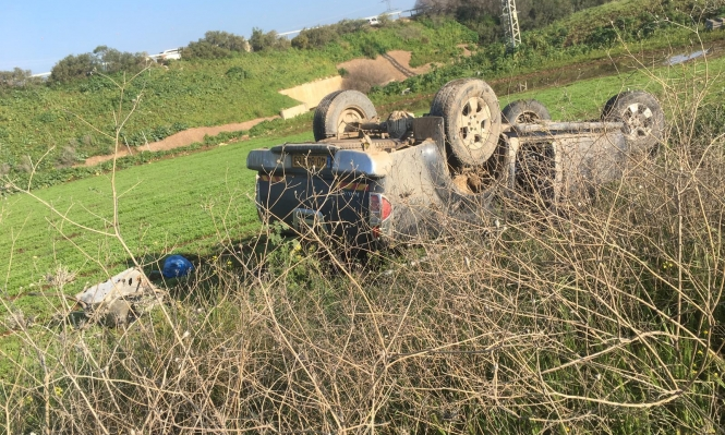 إصابتان في حادث طرق على شارع طمرة عبلين