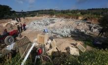 غارة على غزة والاحتلال يعتقل 17 فلسطينيا ويهدم منزلا بالضفة