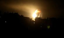 طائرات الاحتلال تقصف محيط الميناء الجديد غرب خان يونس