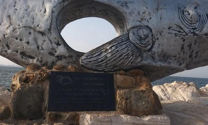بلدية عكا تهدم عملا فنيا للفنان وليد قشاش
