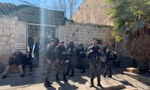 القدس: الاحتلال يستنفر قواته ويدفع بتعزيزات عسكرية واسعة