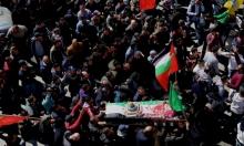 جماهير غفيرة برام الله وغزة تشيع الشهيدين مبارك وعرفات