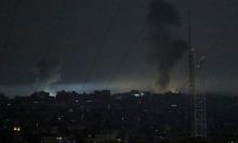 الاحتلال يقصف موقعين في غزة