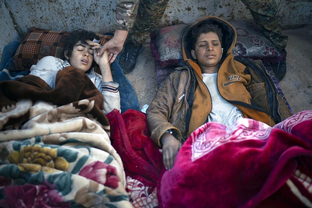الأطفال أبرز ضحايا الجوع والحرب (أ ب)
