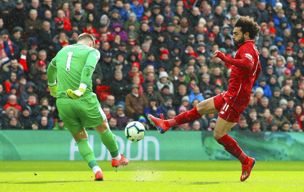 ليفربول يُسقط بيرنلي برباعية مقابل هدفين