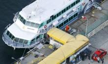 إصابة 80 شخصا بعد اصطدام عبارة يابانية بحيوان بحري