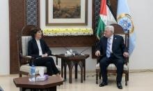 عباس يستقبل زندبيرغ في رام الله