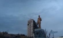 درعا: احتجاجات ضد نصب تمثال جديد لحافظ الأسد