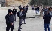 مستوطنون يقتحمون الأقصى وإصابات بمواجهات مع الاحتلال بشعفاط