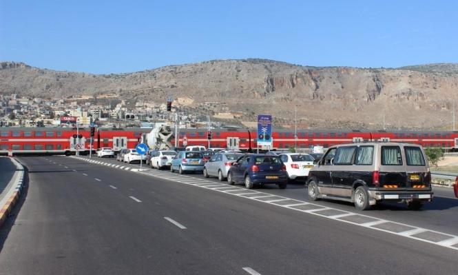 تعطيل حركة القطارات بين كرمئيل وحيفا