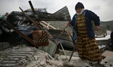 إخطارات هدم ووقف بناء في محافظة سلفيت