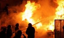 مصرع 3 طفلات شقيقات بحريق منزل برفح