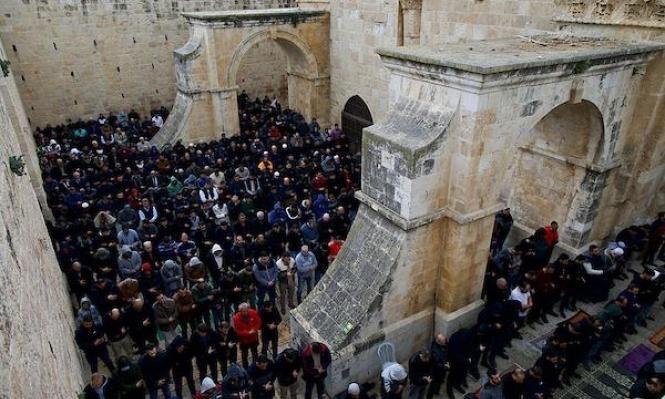 القدس: إرجاء القرار بشأن مصلى باب الرحمة مدة أسبوع