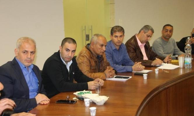 سخنين: اجتماع إدارة البلدية واللجنة الشعبية تحضيرا للذكرى 43 ليوم الأرض