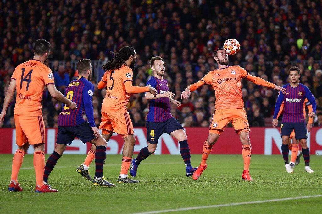 دوري الأبطال: برشلونة يتأهل بسهولة على حساب ليون