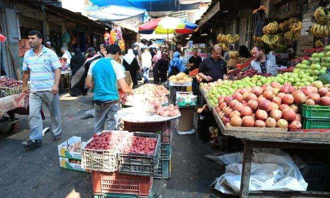 التضخم السنوي الفلسطيني يزداد خلال شباط