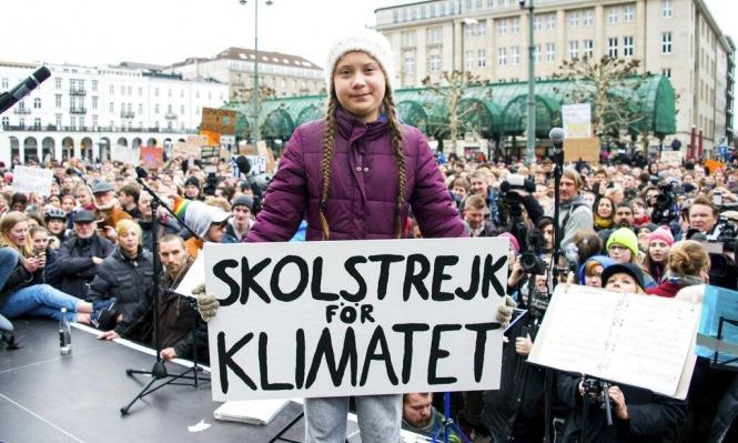 ترشيح مراهقة تنشط ضد تغير المناخ لجائزة نوبل للسلام
