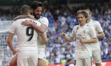 ريال مدريد يحقق الفوز الأول تحت قيادة زيدان