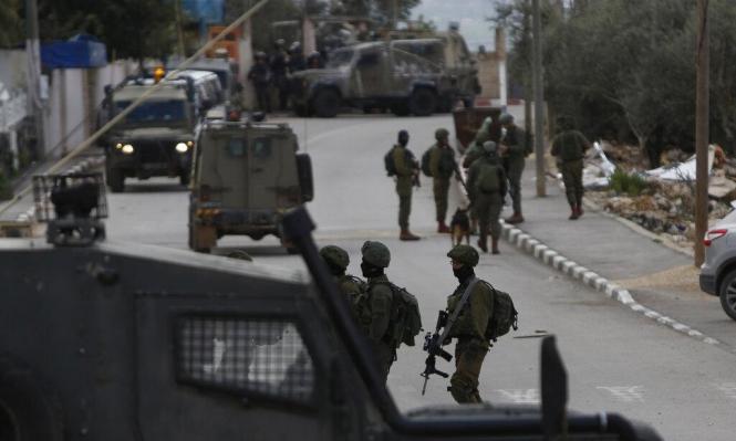 إصابات واعتقالات في اقتحامات الاحتلال لقرى سلفيت