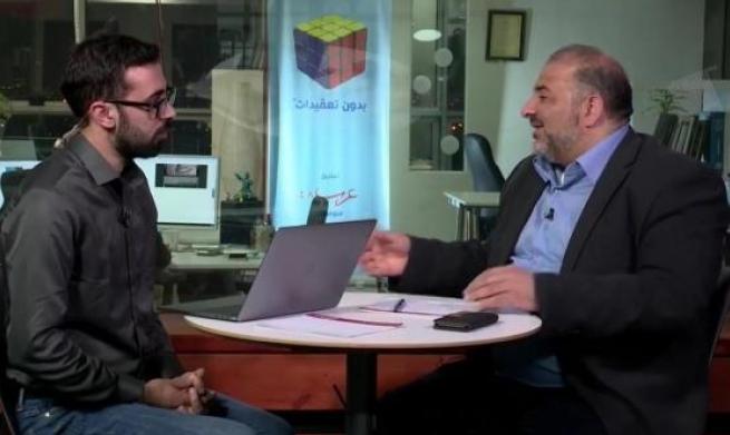 """""""حوار مباشر"""": إرجاء اللقاء مع د. منصور عباس"""