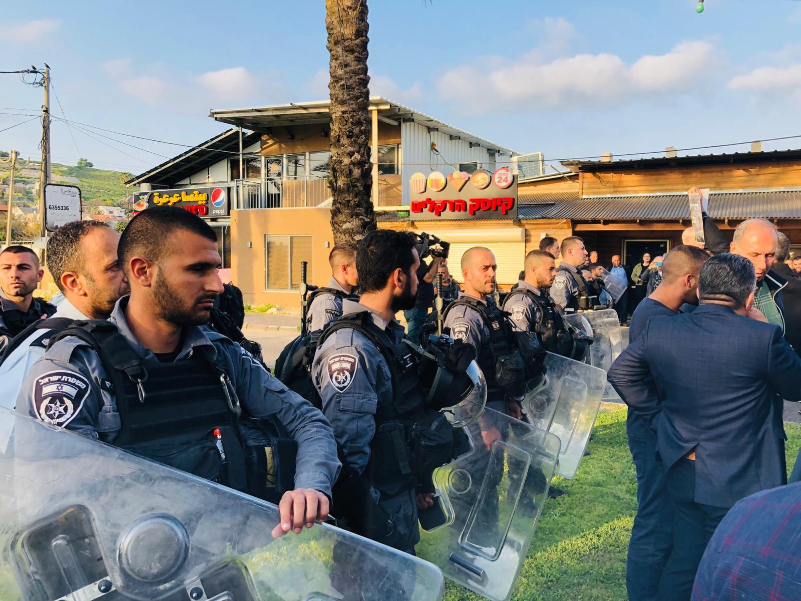 عرعرة: تظاهرة حاشدة رفضًا لسياسة الهدم الإسرائيليّة