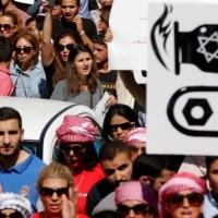 #غاز_العدو_احتلال: أردنيون بمظاهرة تندد باتفاقية الغاز مع إسرائيل