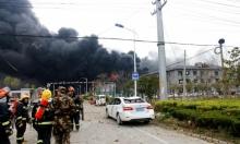 الصين: مصرع 44 شخصا في انفجار مصنع للكيماويات
