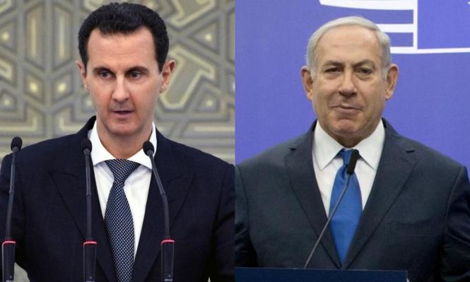 """الأسد كان على بعدستّة أشهر من توقيع """"اتفاق"""" مع إسرائيل"""