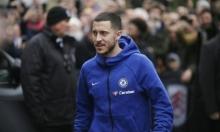 هازارد: لا أفكر في أنباء الانتقال لريال مدريد