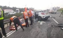 3 إصابات خطيرة في حادثي طرق بالجليل